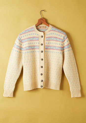 Vintage Dawn Location Cardigan
