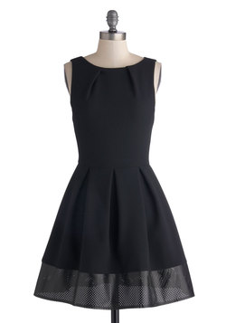 Luck Be a Lady Dress in Edgy