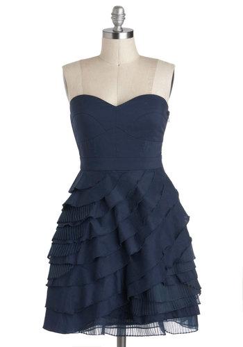 Baklava Beauty Dress in Blueberry