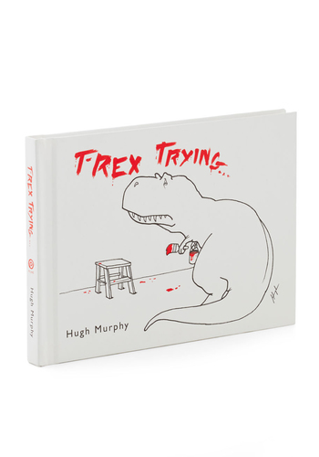 T-Rex Trying... by Penguin Books - White, Red, Black, Good, Guys, Under $20, Nifty Nerd