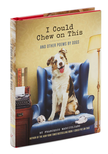 I Could Chew on This and Other Poems by Dogs by Chronicle Books - Multi, Print with Animals, Quirky, Good