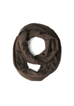 Come Full Circle Scarf in Cocoa