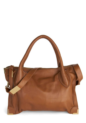 Midtown Maven Bag by Foley+Corinna - Tan, Gold, Solid, Leather, Best, Urban, Work