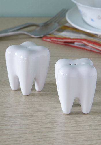 Molar System Shaker Set - White, Good, Solid, Quirky