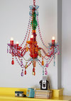 Rainbow Light Show Chandelier by Present Time - Multi, Multi, Boho, French / Victorian, Best, Dorm Decor, Quirky, Holiday