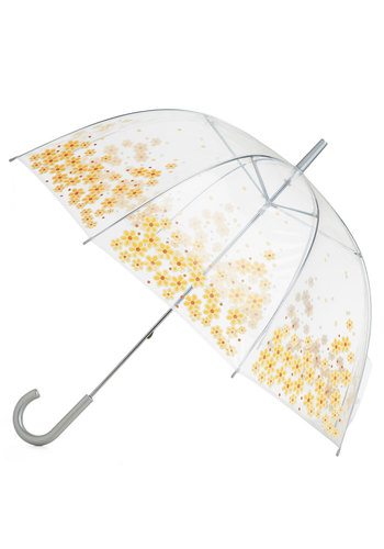 Rainy Daisy Umbrella - Yellow, Floral, Spring