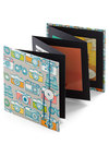 Snapshot Gallery Photo Album - Woven, Multi, Good, Novelty Print, Graduation, Dorm Decor