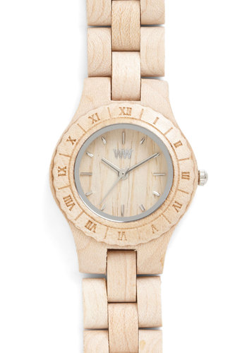 Wood You Have the Time? Watch - Tan, Silver, Solid, Eco-Friendly, Best, Casual