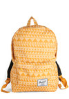 Geometry Genius Backpack by Herschel Supply Co. - Yellow, Print, Scholastic/Collegiate, Urban, Orange, Travel, Fall