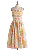 High Socie-tea Dress in Macaron