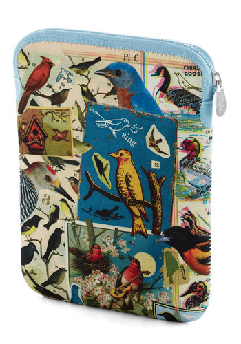 Bird Call of the Wild iPad Case - Multi, Print with Animals, Trim, Travel, Work