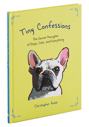 Tiny Confessions by Penguin Books - Yellow, Print with Animals, Good