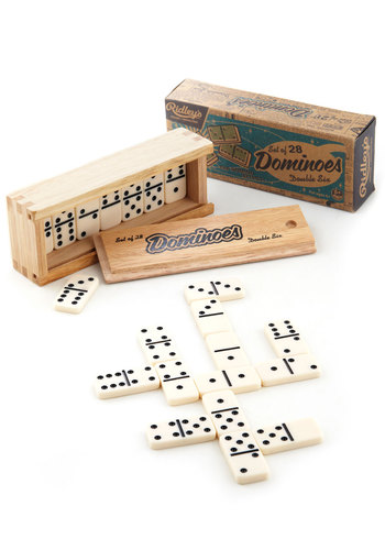 Got Your Number Domino Set - Multi, Good, Vintage Inspired