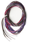 Base Camp Bash Circle Scarf in Dusk - Purple, Multi, Boho, Best, Cotton, Print, Casual, Variation