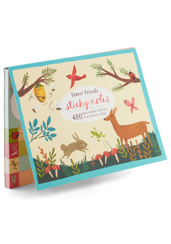 The Nature of Your Work Sticky Note Set by Chronicle Books - Multi, Print with Animals, Work, Good, Under $20