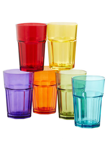 Refreshing Spectrum Glass Set - Multi, Better, Solid