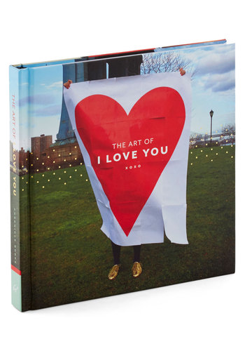The Art of I Love You by Chronicle Books - Good, Valentine's