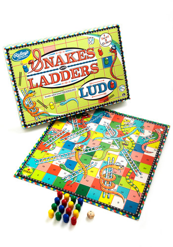 Snakes & Ladders and Ludo - Multi, Good