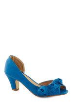 Go Floret Heel in Blue