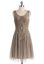 Dresses - Bohemian Belle Dress in Taupe
