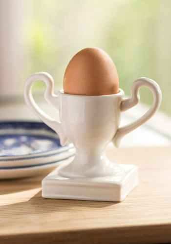 Egg-ceptional Mornings Egg Cup by Louche - White, Good, Solid