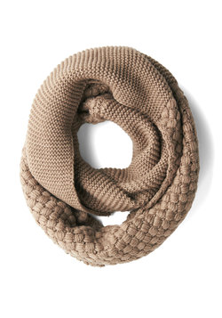 Chill Out on the Town Scarf in Taupe