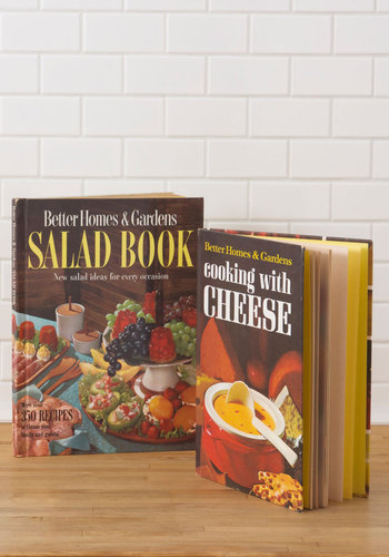Vintage Delish Goes On Cookbook Set