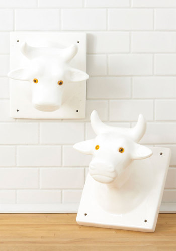 Vintage Steer the Conversation Towel Holders