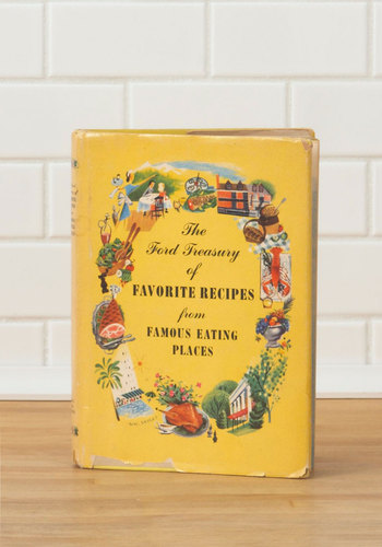 Vintage The Ford Treasury of Favorite Recipes...