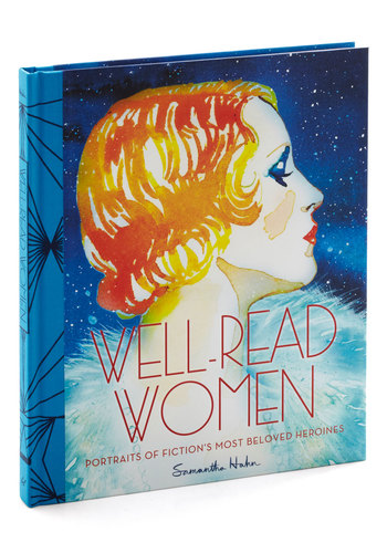 Well-Read Women by Chronicle Books - Multi, Vintage Inspired, 20s, 30s, Good