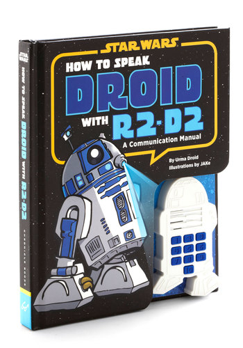 How to Speak Droid by Chronicle Books - Black, Blue, Good, Under $20, Sci-fi, Guys