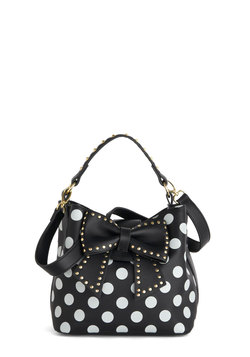 Betsey Johnson Outfit of the Daring Bag in Black