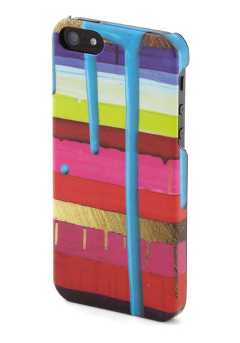 Trickle My Fancy iPhone 5/5S Case - Multi, Stripes, Travel