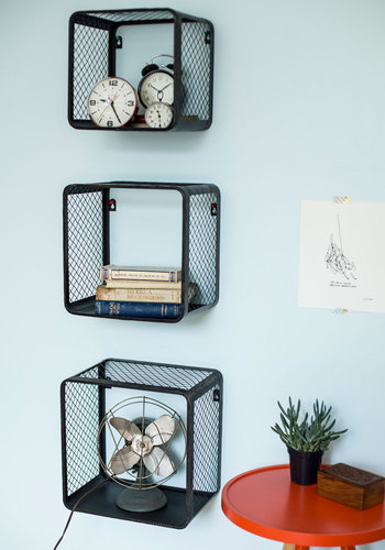 Crate Your Experience Shelves - Black, Dorm Decor, Urban, Best, Solid