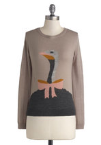 Wizard of Ostrich Sweater