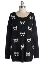Fall Trends - To Be So Bowed Sweater