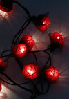In Rose and Columns String Lights in Red