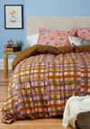 Drifting Off to Dreamland Duvet Cover Set in Twin - Cotton, Multi, Dorm Decor, Best, Blue, Floral, Woven, Exclusives
