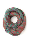 Northern Flights Circle Scarf - Solid, Knitted, Fall, Winter, Better, Knit, Red, Blue, Casual