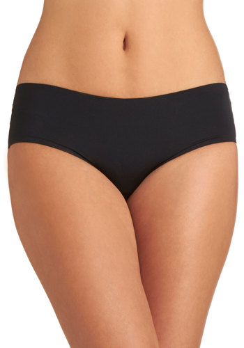 Wear Me Anywhere Undies in Black - Black, Solid, Knit, Variation, Basic