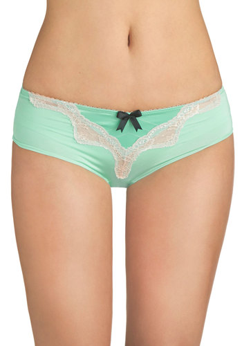 At a Mo-mint's Notice Undies - Mint, Tan / Cream, Black, Solid, Bows, Lace, Pastel, Sheer, Satin, Knit