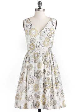 Time is of the Elegance Dress