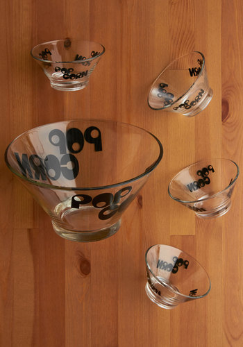 Vintage Pop 'Til You Drop Bowl Set