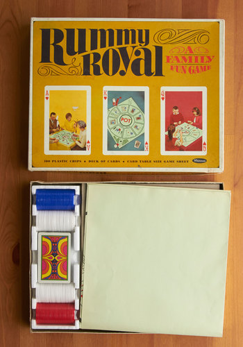 Vintage Rummy Royal Game