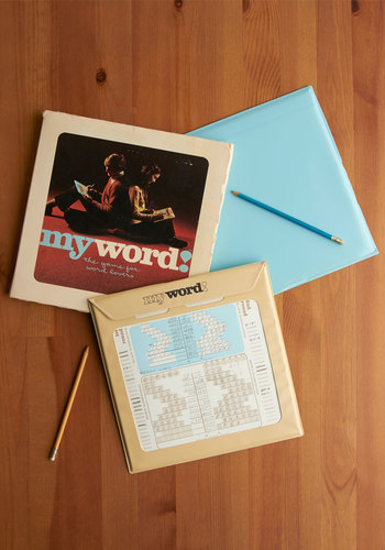 Vintage My Word! Game