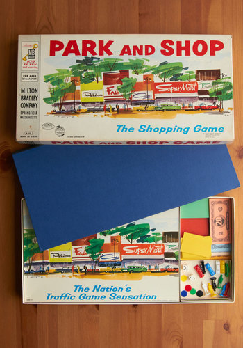 Vintage Park and Shop Game