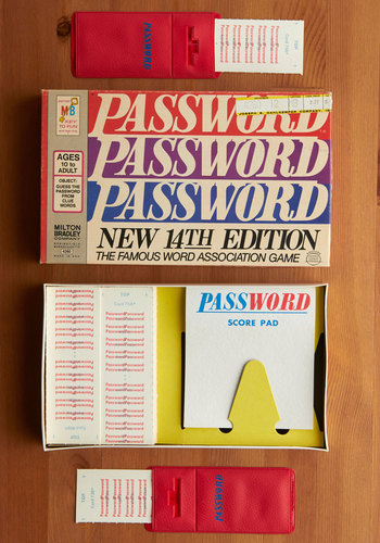 Vintage Password Game
