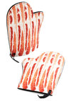 Every Sizzle Day Oven Mitts by One Hundred 80 Degrees - Multi, Quirky, Good, Red, White, Novelty Print, Press Placement