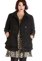 Pep Rally Perfection Coat in Plus Size