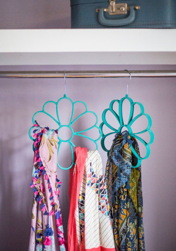 Cultivate Organization Scarf Hanger in Blue - Good, Mint, Boho, Best Seller, Under $20, Press Placement, Top Rated